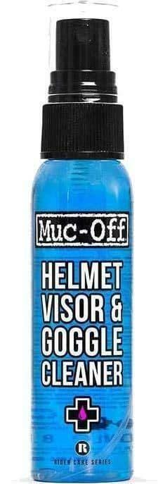Muc-Off Motorcycle Motorbike Helmet, Visor & Goggle Cleaner Big 250ml Bottle